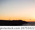 海岸的夕陽 26755022