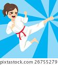 Karate Girl Action 26755279