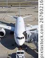 机场 飞机 登机桥 26760216