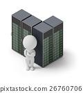 isometric people - servers 26760706