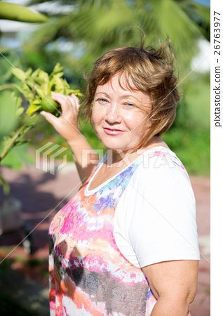 Senior grandmother outdoor 26763977