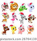 Funny Christmas animals 26764139