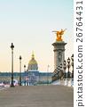 Les Invalides building in Paris 26764431
