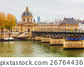 Pont des Arts leading to the Institut de France 26764436