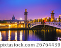 Pont Alexandre III (Alexander III bridge) in Paris 26764439