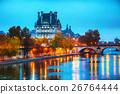 Musee du Louvre (Louvre museum) in Paris, France 26764444