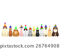 สัตว์,ภาพวาดมือ สัตว์,แมว 26764908