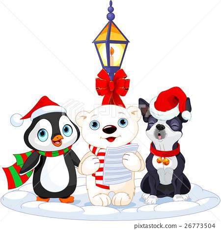 Christmas Carolers 26773504