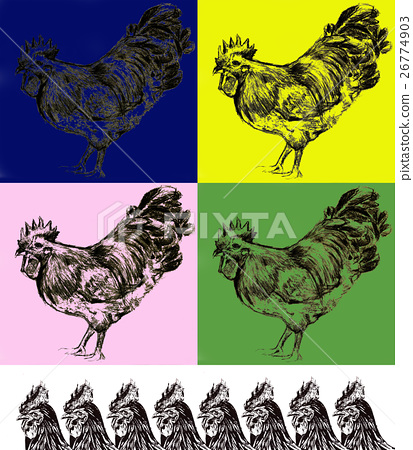 rooster, year of the cock, chicken 26774903