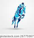 vector horse equestrian 26775067