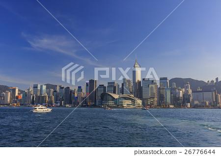 香港著名的維多利亞港 26776644