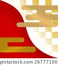 체크 무늬 일본식 디자인 26777100
