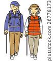 등산 중에 할머니 할아버지 26778173