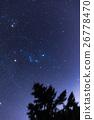 ฤดูหนาว,ดาวเต็มฟ้า,ดาวเต็มท้องฟ้า 26778470