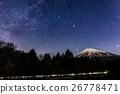 winter, starry, sky 26778471
