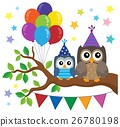 Party owls theme image 1 26780198