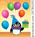 Party penguin theme image 4 26780205