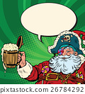 Santa, Claus, beer 26784292