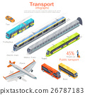Transport Infographic. Public Transport. Vector 26787183