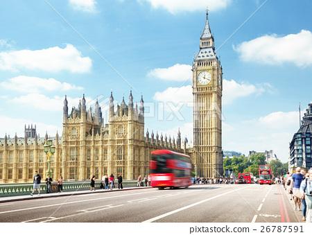 Westminster Bridge, London, UK 26787591