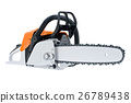 Chainsaw gasoline white 26789438