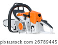Chainsaw gasoline machine 26789445