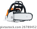 Chainsaw gasoline industry cutter 26789452