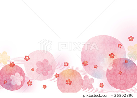 Background material - cute Japanese Pattern Sea 2 26802890