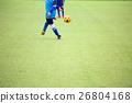 ฟุตบอล,สนามหญ้า,เด็กผู้ชาย 26804168