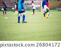 ฟุตบอล,สนามหญ้า,เด็กผู้ชาย 26804172