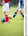 ฟุตบอล,ลูกฟุตบอล,สนามหญ้า 26804173
