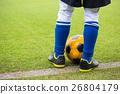 ฟุตบอล,ลูกฟุตบอล,สนามหญ้า 26804179