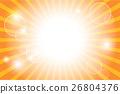 Sunburst with sun flare background 26804376