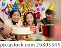 生日聚会家庭 26805345