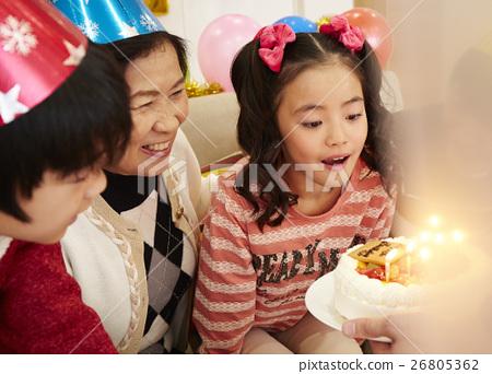 生日聚会家庭 26805362