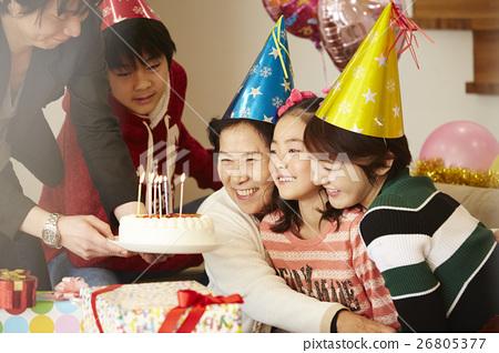 生日聚会家庭 26805377