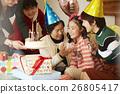 生日聚会家庭 26805417