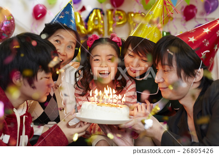 生日聚會家庭 26805426