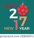 greeting, vector, card 26808051