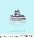 卡通 城堡 日本 26809391
