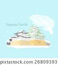 城堡 日本 名古屋 26809393