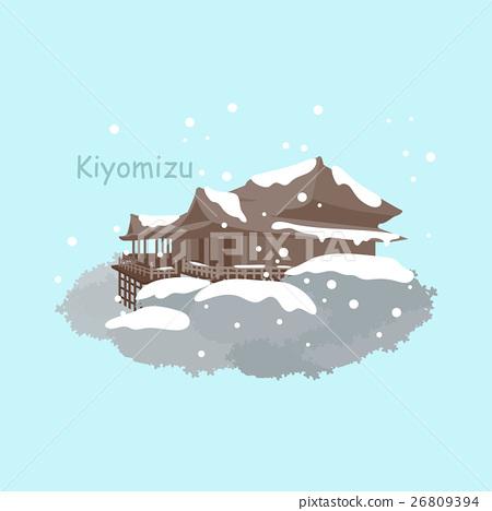 Japan Kiyomizu or Kiyomizu-dera temple 26809394