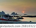 夕陽拼板舟 26810322