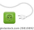 Green Socket Energy Environment Power SCHUKO 26810892