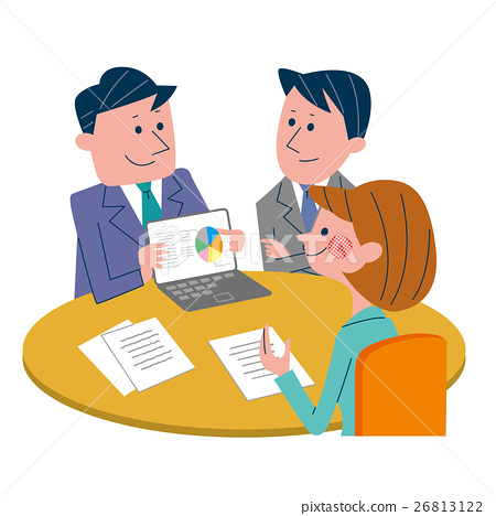 conference  meeting  a meeting stock illustration homework school to print primary school homework