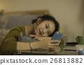 여성, 여자, 스마트폰 26813882