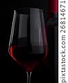 red, glass, wine 26814671