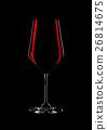 red, glass, wine 26814675
