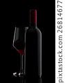 red, glass, wine 26814677