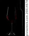 red, glass, wine 26814678